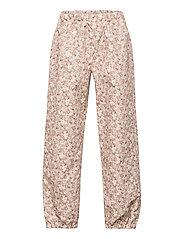 Outdoor Pants Robin Tech - ROSE FLOWERS