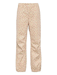 Softshell Pants Jean - SOFT BEIGE FLOWERS