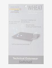 Wheat - Softshell Pants Jean - underdele - soft beige flowers - 2
