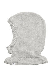 Knitted Balaclava - MELANGE GREY