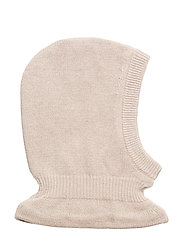 Knitted Balaclava - ROSE POWDER