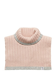 Knitted Neck Warmer - ROSE POWDER