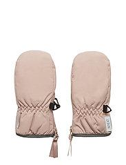 Mittens Technical Zipper - ROSE POWDER