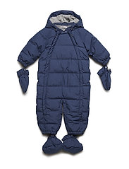 Down Baby Suit - BLUE