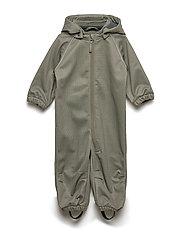 Softshell suit - ARMY LEAF