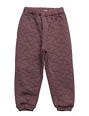 Thermo Pants Alex - SOFT EGGPLANT