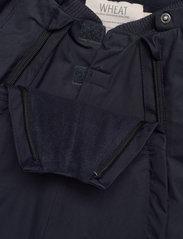 Wheat - Snowsuit Nickie Tech - snowsuit - deep blue - 5