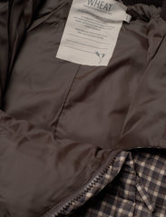 Wheat - Puffer Baby Suit - snowsuit - brown check - 6