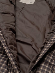 Wheat - Puffer Baby Suit - snowsuit - brown check - 8