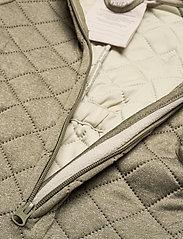 Wheat - Thermosuit Harley LTD - outerwear - green melange - 4