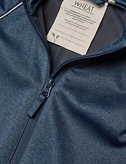 Wheat - Softshell Suit - softshells - blue melange - 2