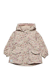 Jacket Ada Tech - STONE FLOWERS