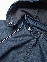 Wheat - Softshell Jacket Eddie - softshell-jakker - blue melange - 5