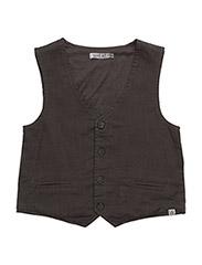 Boy Vest - STEEL