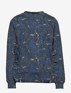 Sweatshirt Helia - svetarit - greyblue