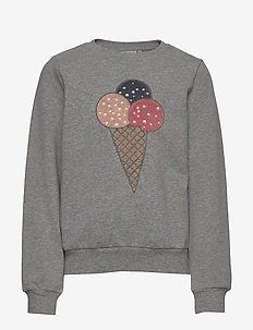 Sweatshirt Ice Cream - sweatshirts - melange grey