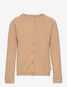 Knit Cardigan Maja - gilets - sand melange