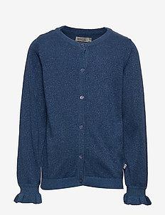Knit Cardigan Mejse - BLUE HORIZON