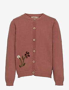 Knit Cardigan Ella - gilets - rose cheeks