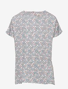 Blouse Odine - blouses & tunics - dove brick