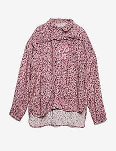 Shirt Katharina - blouses & tunics - blush