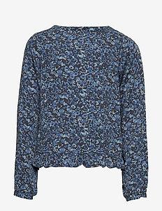 Blouse Grit - blouses & tunics - greyblue