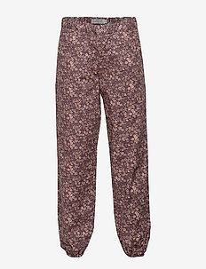 Trousers Malou - SOFT EGGPLANT