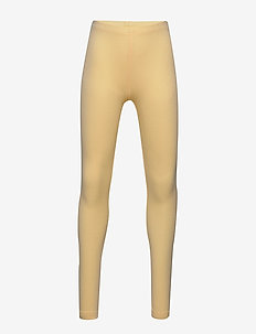 Rib Leggings - leggingsit - lemon curd