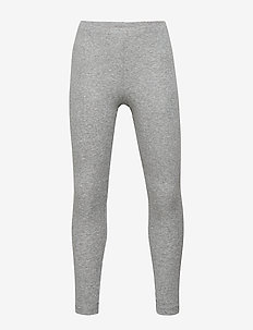 Rib Leggings - leggingsit - melange grey