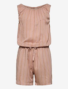 Jumpsuit Felicia - haalarit - peach stripe