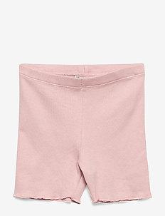 Rib Shorts - MISTY ROSE