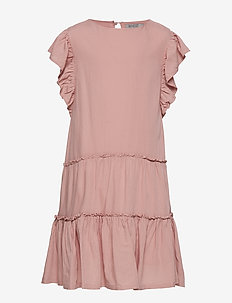 Dress Louise - robes - misty rose