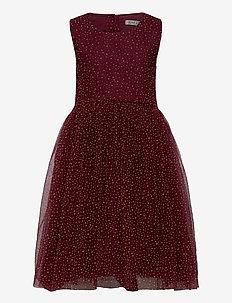Dress Vilna - kjoler - burgundy
