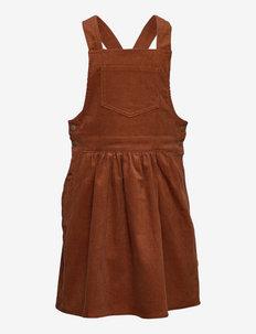 Apron Dress Conny - kleider - bronze
