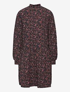 Dress Rebekah - kjoler - petroleum flowers