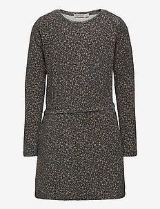 Dress Odile - robes - greyblue flowers
