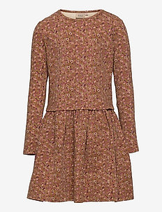 Dress Astrid - kleider - bronze flowers