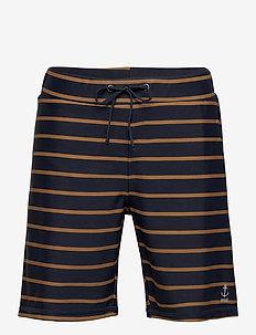 Swim Shorts Eli - badebukser - midnight blue stripe