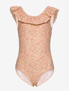 Swimsuit Marie-Louise - maillots 1 pièce - lemon curd flowers