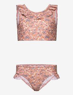 Bikini Elina - uv-clothing - flowers and seashells