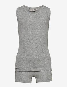 Boy Underwear - MELANGE GREY