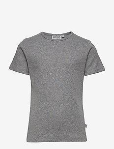 Basic Boy T-Shirt SS - short-sleeved - melange grey