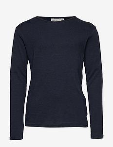 Basic Boy T-Shirt LS - NAVY