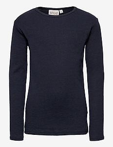Basic Boy T-Shirt LS - long-sleeved t-shirts - navy