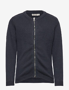 Knit Cardigan Sailor - NAVY