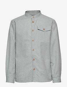 Shirt Kristoffer - skjorter - dusty dove
