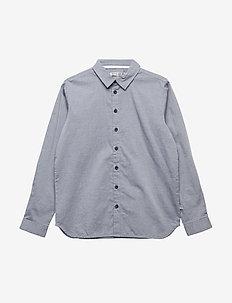 Shirt Pelle LS - skjorter - navy