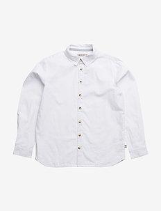 Shirt Pelle LS - koszule - white