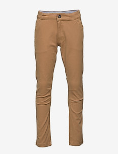 Trousers Slim Orla - trousers - dark camel