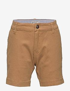 Chino Shorts Ditmer - shorts - dark camel